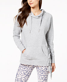 Calvin Klein Performance Lace-Up Sides Hoodie