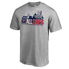 Majestic Men's Washington Capitals Stanley Cup Champs Parade T-Shirt