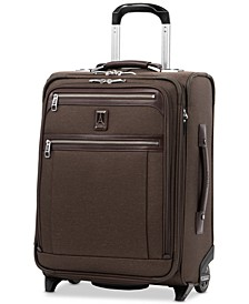 Platinum Elite International Expandable Carry-On Rollaboard Suitcase