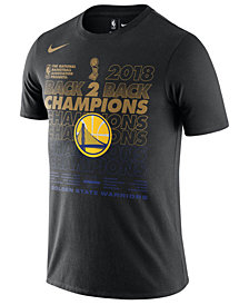 Nike Men's Golden State Warriors Finals Champion Official Locker Room T-Shirt