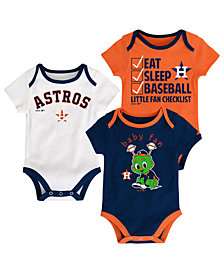 Outerstuff Houston Astros Play Ball 3-Piece Set, Infants (0-9 Months)