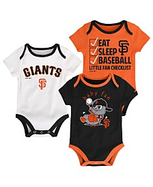 Outerstuff San Francisco Giants Play Ball 3-Piece Set, Infants (0-9 Months)