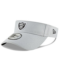 New Era Oakland Raiders Training Visor