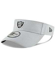 New Era Oakland Raiders Training Visor