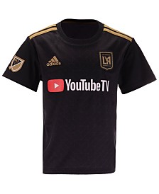adidas Los Angeles Football Club Primary Replica Jersey, Little Boys (4-7)