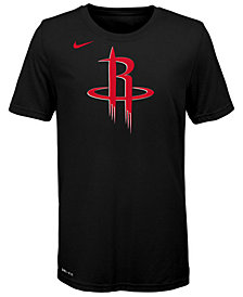 Nike Houston Rockets Logo Dri-FIT T-Shirt, Big Boys (8-20)