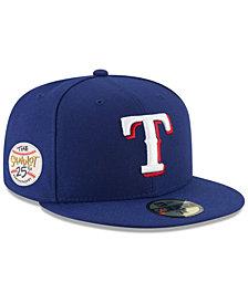 New Era Texas Rangers Sandlot Patch 59Fifty Fitted Cap