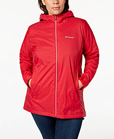 Columbia Plus Size Switchback™ Lined Rain Jacket