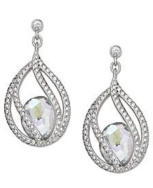 Swarovski Earrings, Megan Pierced Earrings