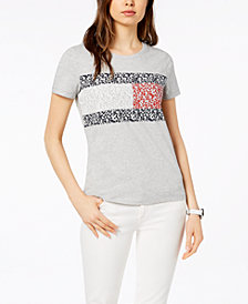 Tommy Hilfiger Logo-Print T-Shirt, Created for Macy's