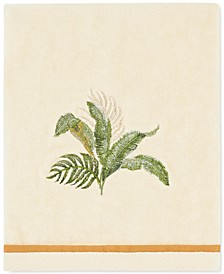 Tommy Bahama Palmiers Cotton Embroidered Hand Towel