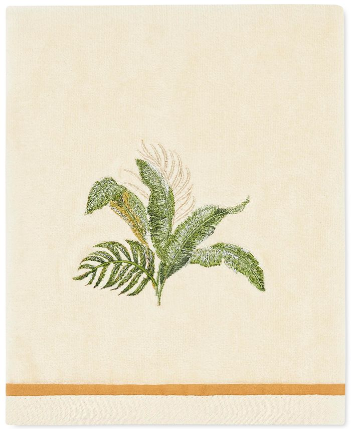 Tommy Bahama Home - Palmiers Cotton Embroidered Hand Towel