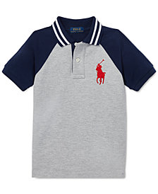 Polo Ralph Lauren Little Boys Cotton Mesh Polo Shirt