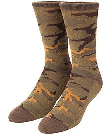 Neff Men's Daily Jacquard Camo Street Socks