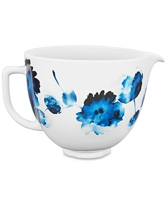Kitchenaid 5 Qt Floral Ceramic Bowl Reviews Small Appliances