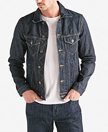 Lucky Brand Men's Classic-Fit Denim Trucker Jacket