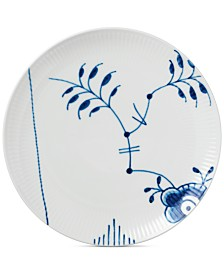 Royal Copenhagen Blue Fluted Mega Coupe Luncheon Plate