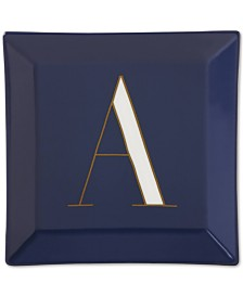 CLOSEOUT! kate spade new york It's Personal Initial Dish
