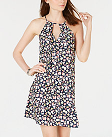 Be Bop Juniors' Floral Keyhole Shift Dress