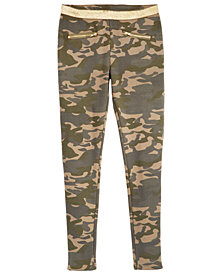 Epic Threads Big Girls Camouflage Pants, Created for Macy's