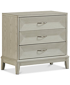 Reeds Three-Drawer Chest, Quick Ship