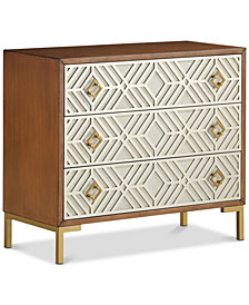Rio Three-Drawer Chest, Quick Ship