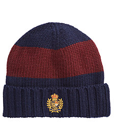 Polo Ralph Lauren Men's Striped Cuffed Hat