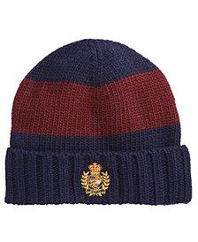 Polo Ralph Lauren Men's Striped Cuffed Hat