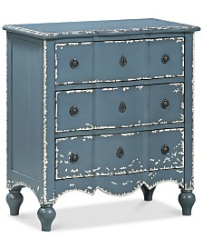 Belfort Three-Drawer Chest, Quick Ship