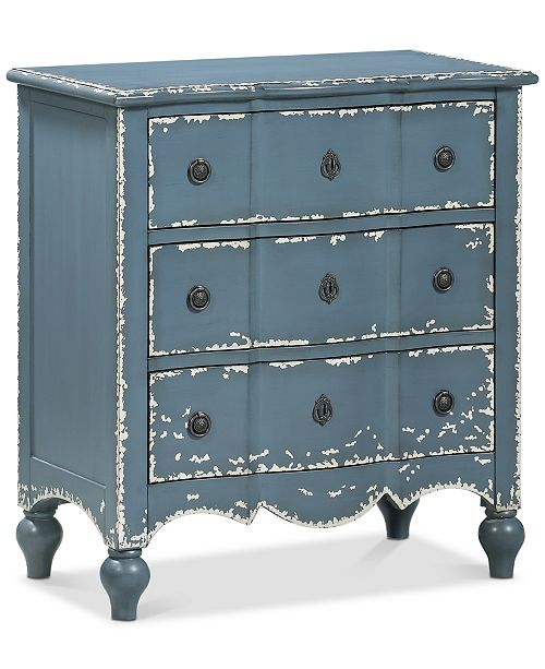 Coast to Coast Belfort Three-Drawer Chest, Quick Ship