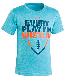 Under Armour Little Boys Hustlin'-Print T-Shirt