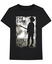 The Cure Men's Boys Don't Cry Graphic T-Shirt