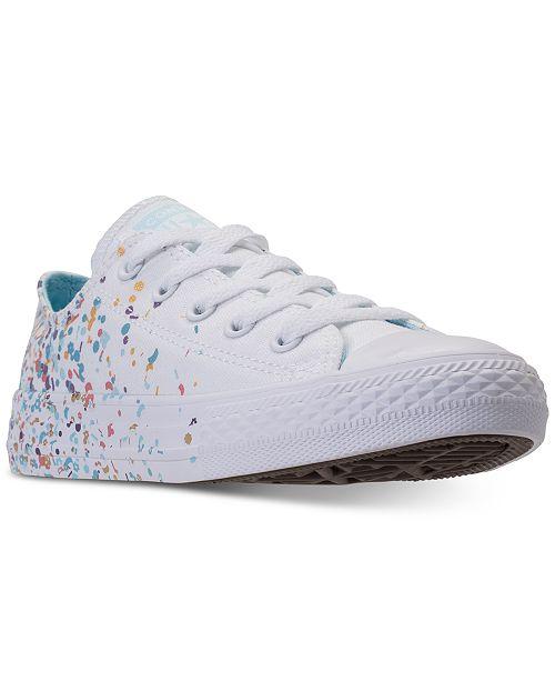 Converse Taylor Confetti Ox All Sneakers Star Chuck Girls' Casual pcrqpWv