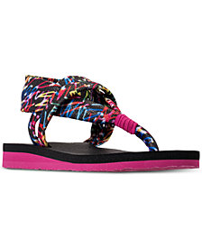 Skechers Little Girls' Meditation Thong Flip-Flop Sandals from Finish Line