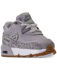 Nike Toddler Girls' Air Max 90 SE Leather Running Sneakers from Finish Line
