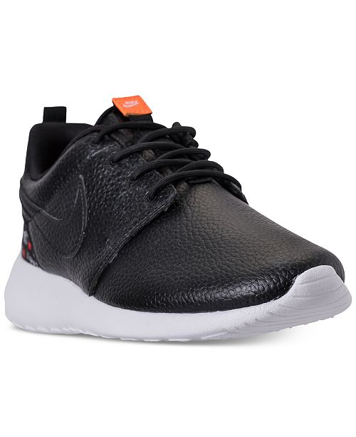 23fb746ca214 ... Nike Women s Roshe One Premium Just Do It Casual Sneakers from Finish  Line ...