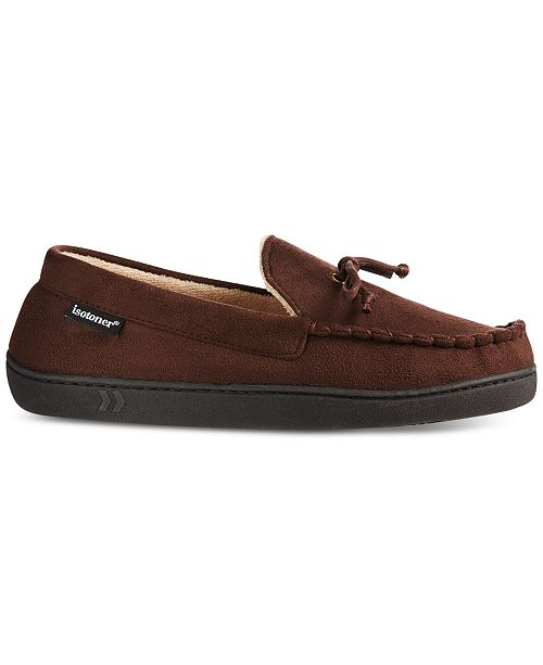 8b760613928 Totes Isotoner Men s Faux-Suede Moccasins With Memory Foam   Reviews ...