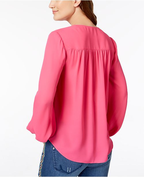 Created INC Intense for Pink Surplice Concepts N International Macy's I C Top CwCqp06f