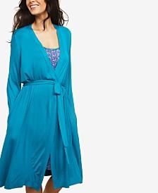 Motherhood Maternity Nursing Belted Robe