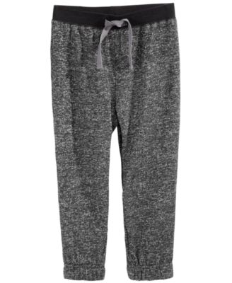 Toddler Boys Marled Jogger Pants, Created for Macy's