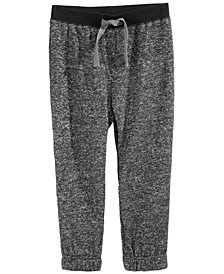 First Impressions Toddler Boys Marled Jogger Pants, Created for Macy's