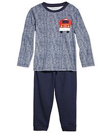 First Impressions Toddler Boys Truck-Print T-Shirt & Jogger Pants, Created for Macy's