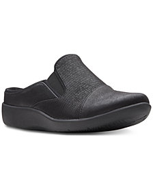 Clarks Collection Women's Cloudsteppers Sillian Free Mules