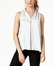 Women's Inverted-Pleat Top