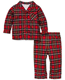 Little Me Baby Boys 2-Pc. Plaid Pajama Set