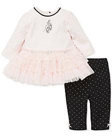 Little Me Baby Girls 2-Pc. Tutu Dress & Leggings Set