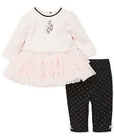 Little Me Baby Girls 2-Pc. Tutu Dress & Leggings Set