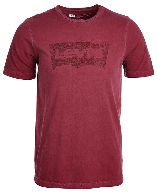 5cd1045c6d2 Levi s Men s Batwing Logo-Print T-Shirt   Reviews - T-Shirts - Men ...