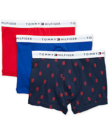 Tommy Hilfiger Men's 3-Pk. Classic Cotton Trunks