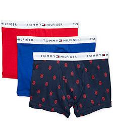 Tommy Hilfiger Men's 3-Pk. Classic Cotton Trunks